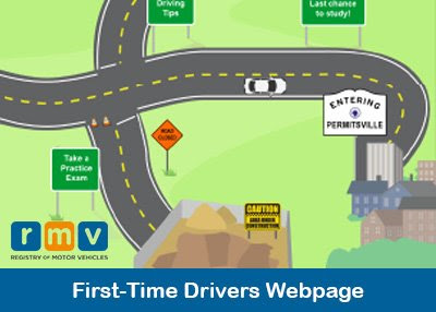 First-Time Drivers Webpage